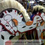 Jatilan Kuda Lumping Anak-Anak dari Anyaman Bambu