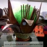 Lampu 9 Klop Kayu Cantik dari Yogyakarta