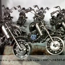 Miniatur Motor Gede Moge Harley Davidson Unik, Klasik dan Keren