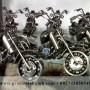 Miniatur Motor Gede Harley Davidson Keren