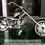 Miniatur Motor Gede Moge Harley Davidson