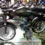 Miniatur Motor Honda CB Klasik Oleh Oleh Khas Yogyakarta terbuat dari Logam