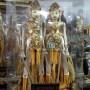 Miniatur Wayang Orang atau Wayang Wong Warna Kuning