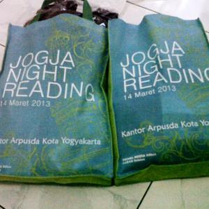 Bingkisan Peserta Jogja Night Reading
