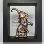 Frame Gajah Mewah Bahan Besi Cor Tembaga dan Kuningan (2)