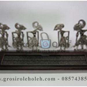 Frame Jejer Pundawa Artistik, Antik, terbuat dari Besi Cor Tembaga dan Kuningan Cocok untuk Kado, Cindera Mata, Koleksi, Penghargaan, Dekorasi Rumah