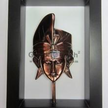 Frame Putra Antik Unik Mewah Artistik terbuat dari Besi Cor Tembaga dan Kuningan