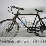 Sepeda MTB Cowok Antik, Unik, Klasik Berbahan dari Besi Cor Tembaga dan Kuningan
