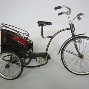 Sepeda Mandarin Besar Antik, Unik, Klasik Berbahan dari Besi Cor Tembaga dan Kuningan