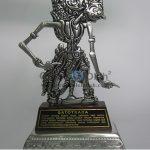 Wayang Klithik Gatot Kaca Penuh Story, Antik, Unik, Artistik Berbahan dari Besi Cor Tembaga dan