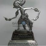 Wayang Klithik Wrekudara Penuh Story, Antik, Unik, Artistik Berbahan dari Besi Cor Tembaga dan Kuningan