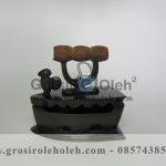 Miniatur Setrika Arang Kuno Antik Artistik