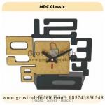 Jam Meja MDC Classic Black Garansi Seiko 2 Tahun