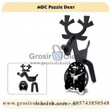 Jam Meja MDC Puzzle Deer Garansi Seiko 2 Tahun