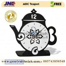 Jam Meja MDC TeaPot Garansi Seiko 2 Tahun