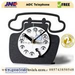 Jam Meja MDC Telephone Garansi Seiko 2 Tahun