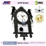 Jam dinding MWC Birdie Garansi Seiko 2 Tahun