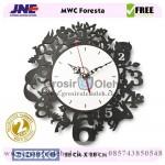 Jam dinding MWC Foresta Garansi Seiko 2 Tahun