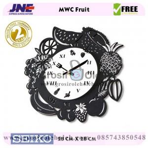 Jam dinding MWC Fruit Garansi Seiko 2 Tahun