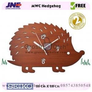 Jam dinding MWC Hedgehog Garansi Seiko 2 Tahun (2)