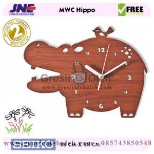 Jam dinding MWC Hippo Garansi Seiko 2 Tahun