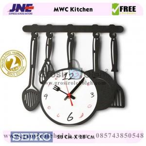 Jam dinding MWC Kitchen Garansi Seiko 2 Tahun