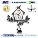 Jam Dinding MWCS Bird House Garansi Seiko 2 Tahun