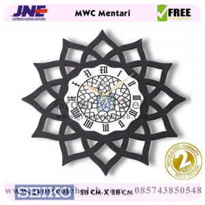 Jam dinding MWC Mentari Garansi Seiko 2 Tahun