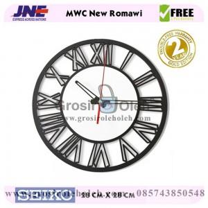 Jam dinding MWC New Romawi Garansi Seiko 2 Tahun