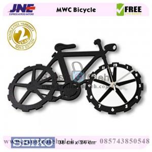 Jam dinding MWC Sepeda Garansi Seiko 2 Tahun