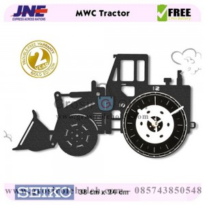 Jam dinding MWC Tractor Garansi Seiko 2 Tahun