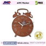 Jam dinding MWC Wecker Garansi Seiko 2 Tahun