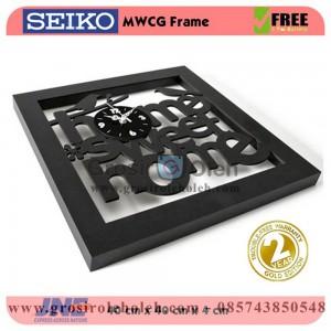 Jam dinding MWCG Frame Garansi Seiko 2 Tahun