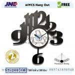 Jam dinding MWCS Hang Out Garansi Seiko 2 Tahun