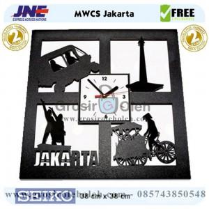 Jam dinding MWCS Jakarta Garansi Seiko 2 Tahun