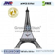 Jam Dinding MWCS Eiffel Garansi Seiko 2 Tahun