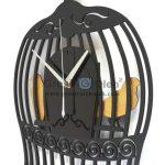 Jual Jam dinding MWCS Bird Cage Garansi Seiko 2 Tahun
