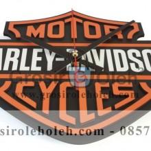 Jam dinding MWCS Harley Davidson Garansi Seiko 2 Tahun