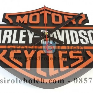 Jual Jam dinding -MWCS Harley Davidson Garansi Seiko 2 Tahun