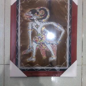 Wayang Kulit Pigura Arjuna