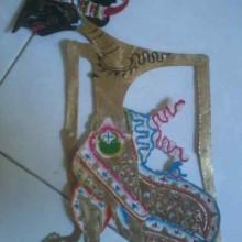 Wayang Kulit Yudhistira Putra Pandu Mahabharata