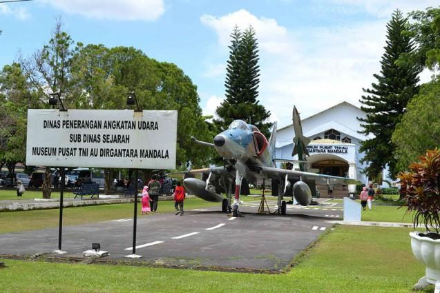 Museum Sejarah Pusat TNI AU Dirgantara Mandala Yogyakarta