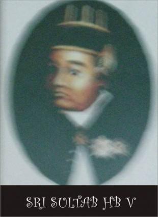 Raja Keraton Yogyakarta Sultan Hamengku Buwono V