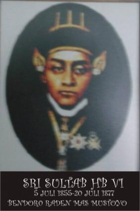 Raja Keraton Yogyakarta Sultan Hamengku Buwono VI