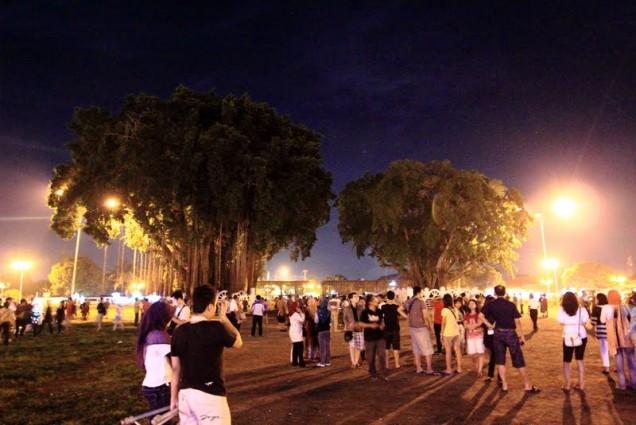 Alun-alun kidul Jogjakarta Tempat Nongkrong Malam Hari