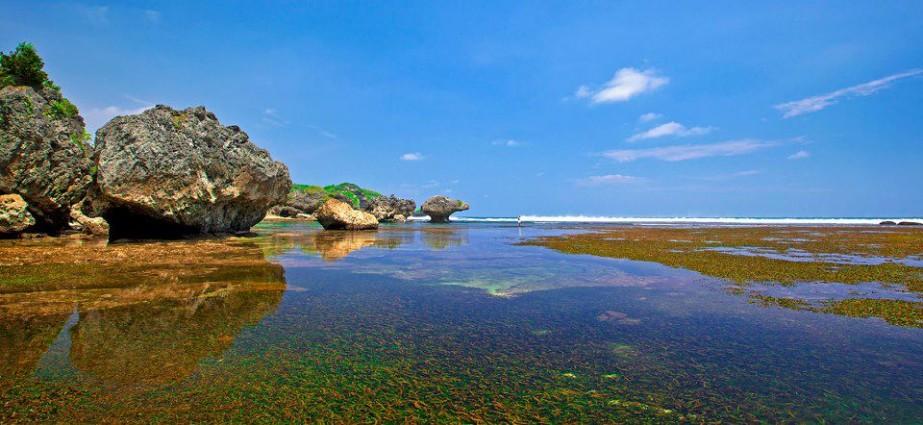 Pantai Krakal Gungung kidul Tempat kita Bisa Melihat Keindahan Karang