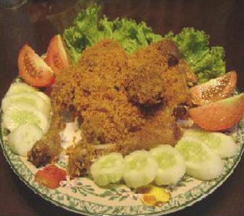 Wisata Kuliner Kalasan, Sentra Ayam Goreng
