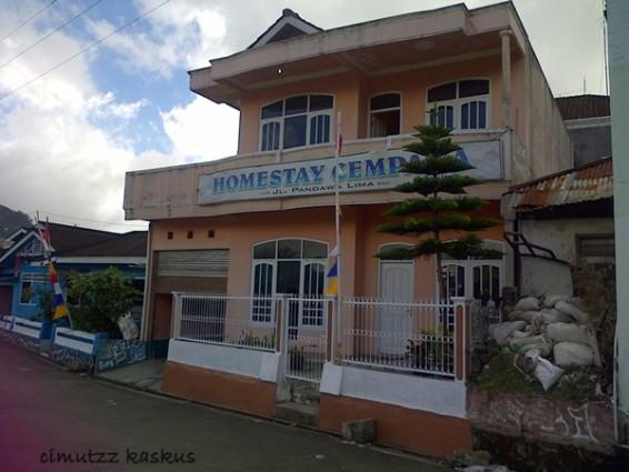 Homestay Cempaka Penginapan di Dieng Kulon