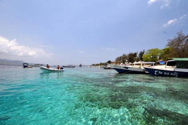 Keindahan Pantai Gili Nanggu Lombok