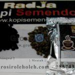Roasted Beans Kopi Semendo Cap Radja (Kopi Biji Sangrai)